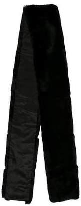 Max Mara 'S Faux Fur Rectangle Scarf