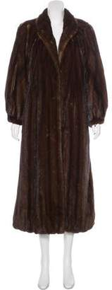 Bergdorf Goodman Mink Long Coat