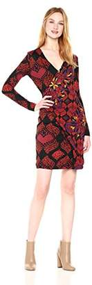 Desigual Women's Gaelle Woman Knitted Long Sleeve Dress