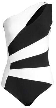 Chiara Boni Ani One-Shoulder One-Piece Swimsuit