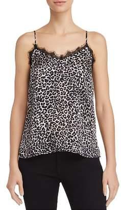Anine Bing Leopard-Print Silk Camisole Top