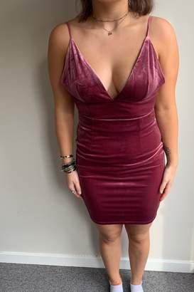 Emma Kate Velvet Dress