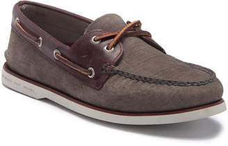 Sperry Gold Cup Nubuck Boat Shoe