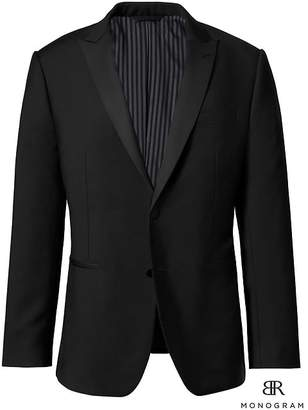 Banana Republic Monogram Slim Italian Tuxedo Jacket