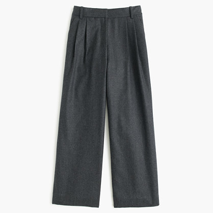 J.CrewPetite cropped pant in wool flannel