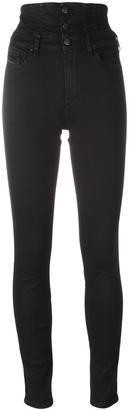 Diesel 'Skinzee Corset' jeans $223.29 thestylecure.com