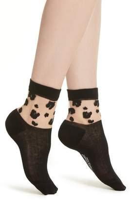 Richer Poorer Cheeta Ankle Socks