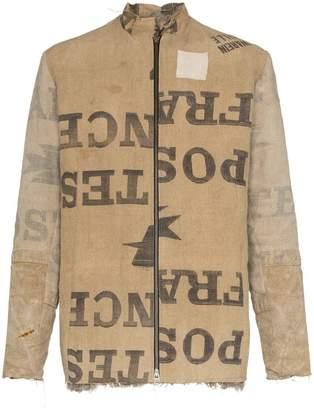 By Walid Albert Dusty Kalgan printed cotton jacket