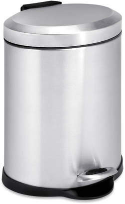 Honey-Can-Do 1.3-Gal Oval Step Trash Can