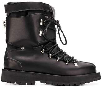 Sacai lace-up ski boots