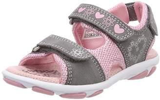 Superfit Girls' Nelly 1 Heels Sandals Grey Size: