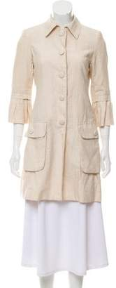 Robert Rodriguez Linen Long Sleeve Jacket