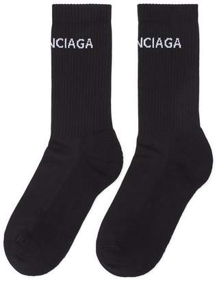 Balenciaga 'Everyday' logo intarsia socks