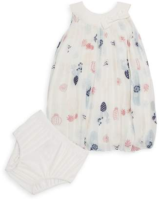 Petit Lem Baby Girl's Two-Piece Dress and Bloomers Set