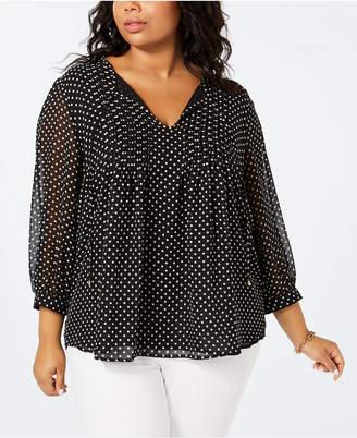 8eb12172a Tommy Hilfiger Black Plus Size Tops - ShopStyle
