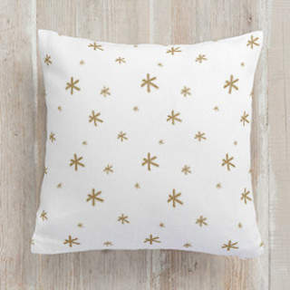 Simple Starburst Self-Launch Square Pillows