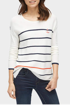 Tom Tailor Anchor Stripe Sweater