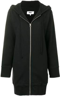 MM6 MAISON MARGIELA zip-off sleeve hoodie