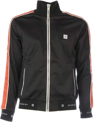 Givenchy Contrast Zipped Jacket