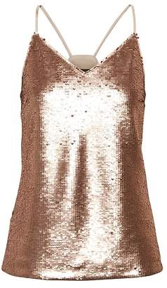 Banana Republic Sequin Strappy Camisole