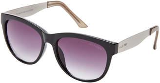 Tommy Hilfiger 66397453 Black Audrey Wayfarer Sunglasses