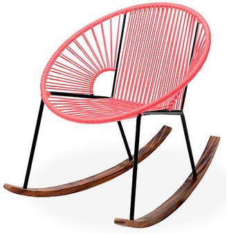 Mexa Ixtapa Rocking Chair - Coral