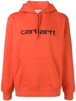 Carhartt Heritage front logo hoodie