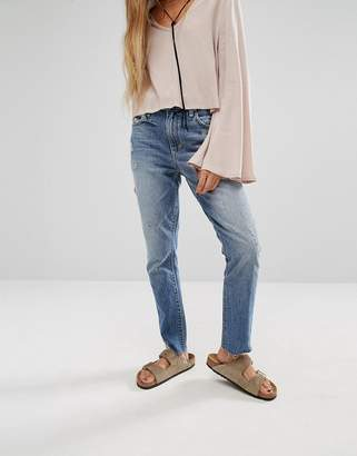 Lovers + Friends Logan High Rise Slim Jeans