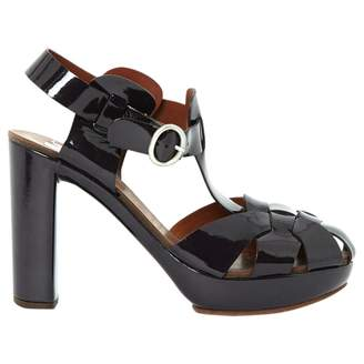 See by Chloe Purple Patent leather High Heel