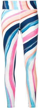 Nike multicoloured print cropped pants