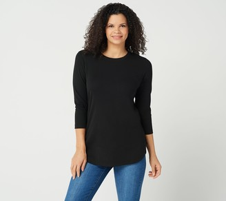 db001fe8438 SOHO Crew-Neck Tunic with Side Panel Insets