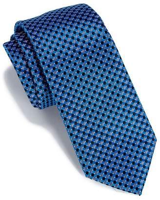 Perry Ellis Helton Mini Check Tie