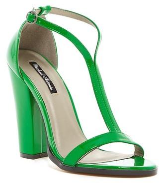 Michael Antonio Jons Patent Dress Sandal $49 thestylecure.com