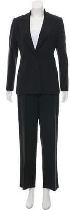 Valentino Peak-Lapel Structured Pantsuit