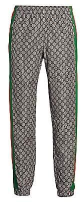Gucci Men's Oversize GG Nylon Jogging Pant