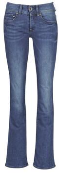 G Star Raw MIDGE MID BOOTCUT WMN women's Bootcut Jeans in Blue