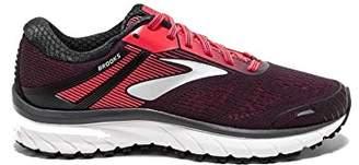 Brooks Women's Adrenaline GTS 18 D Running Shoe (BRK-120268 1D 39350C0 10.5 BLK/BLK)