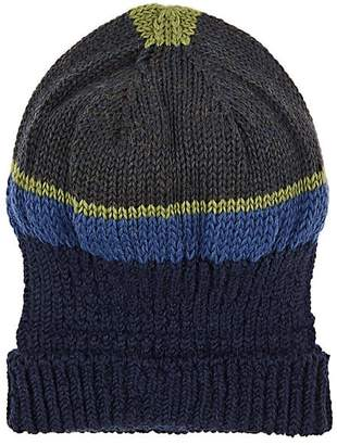 Inis Meain Men's Striped Baby Alpaca-Silk Knit Hat