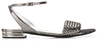 Casadei ankle strap sandals