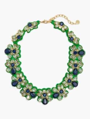 Talbots Fabric-Backed Necklace