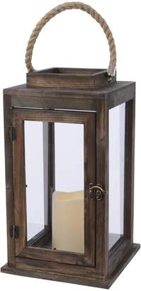 Harrods LED Wooden Lantern