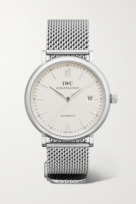IWC SCHAFFHAUSEN Portofino Automatic 40 Stainless Steel Watch - Silver