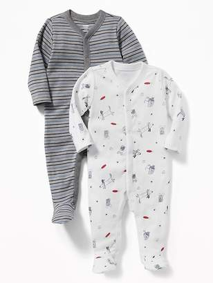Old Navy Footed One-Piece 2-Pack for Baby