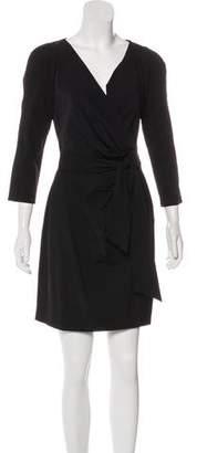 Diane von Furstenberg Pleated Sheath Dress w/ Tags