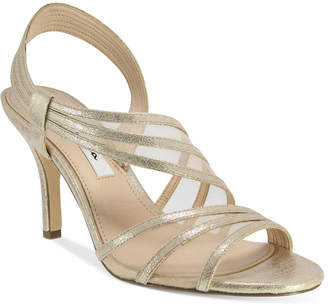 Nina Vitalia Asymmetrical Sandals Women's Shoes