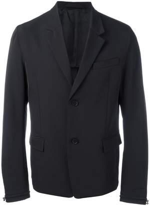 Diesel Black Gold drawstring cuff blazer