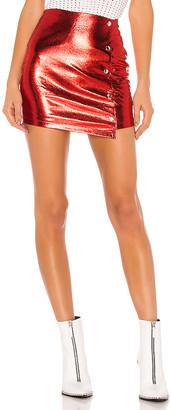 superdown Dana Snap Front Skirt