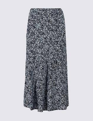 Marks and Spencer Printed Full Maxi Skirt
