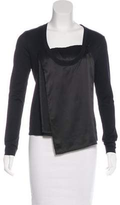 Maison Margiela Paneled Long Sleeve Top