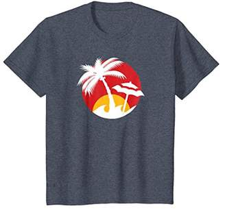 Palm Trees & Sunny Beach Graphic T-shirt